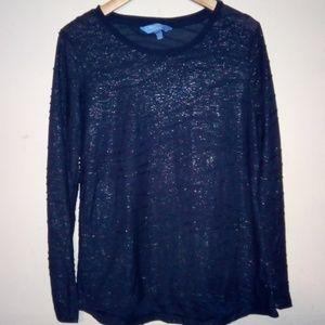 Simply Vera Women's Long Sleeve Shirt Size M